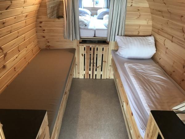 Ein Zwei Drei Oder Vier Schlafplatze Schlaffass XXL Familienfass Campingplatz Pilsensee